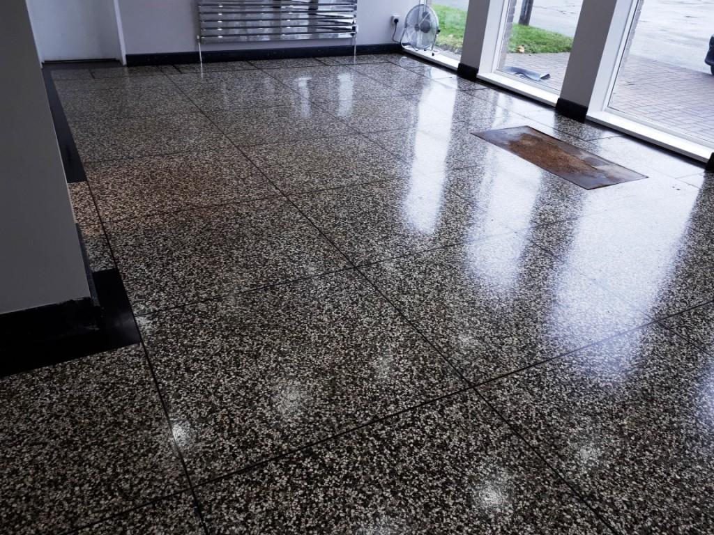 Polishing Terrazzo Flooring