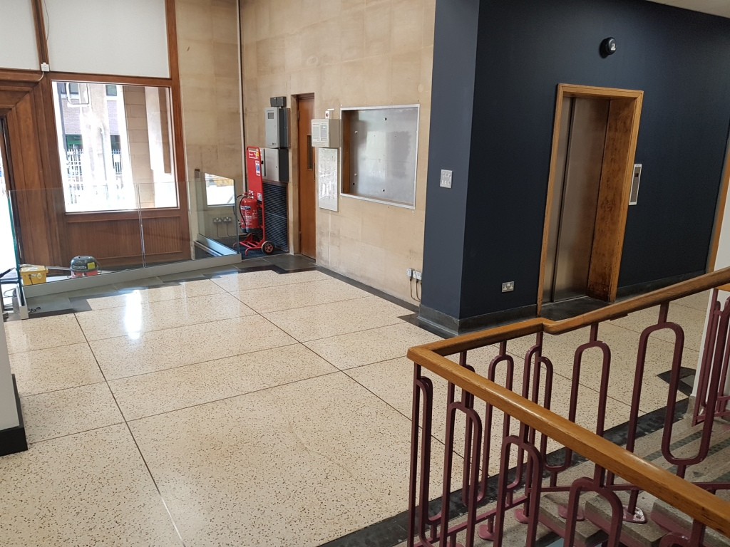 Terrazzo Hallways and Corridors